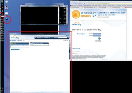 Workday Desktop Application via Prism